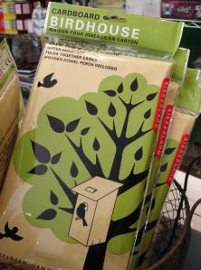 cardboard-birdhouse