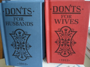 Don'ts for Husbands and Wives