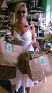Melissa at shop