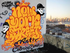 Street Art Coloring Book
