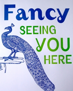 Fancy Seeing you here