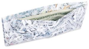 Shredder wallet