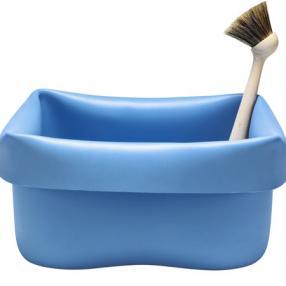 wash up bowl- blue