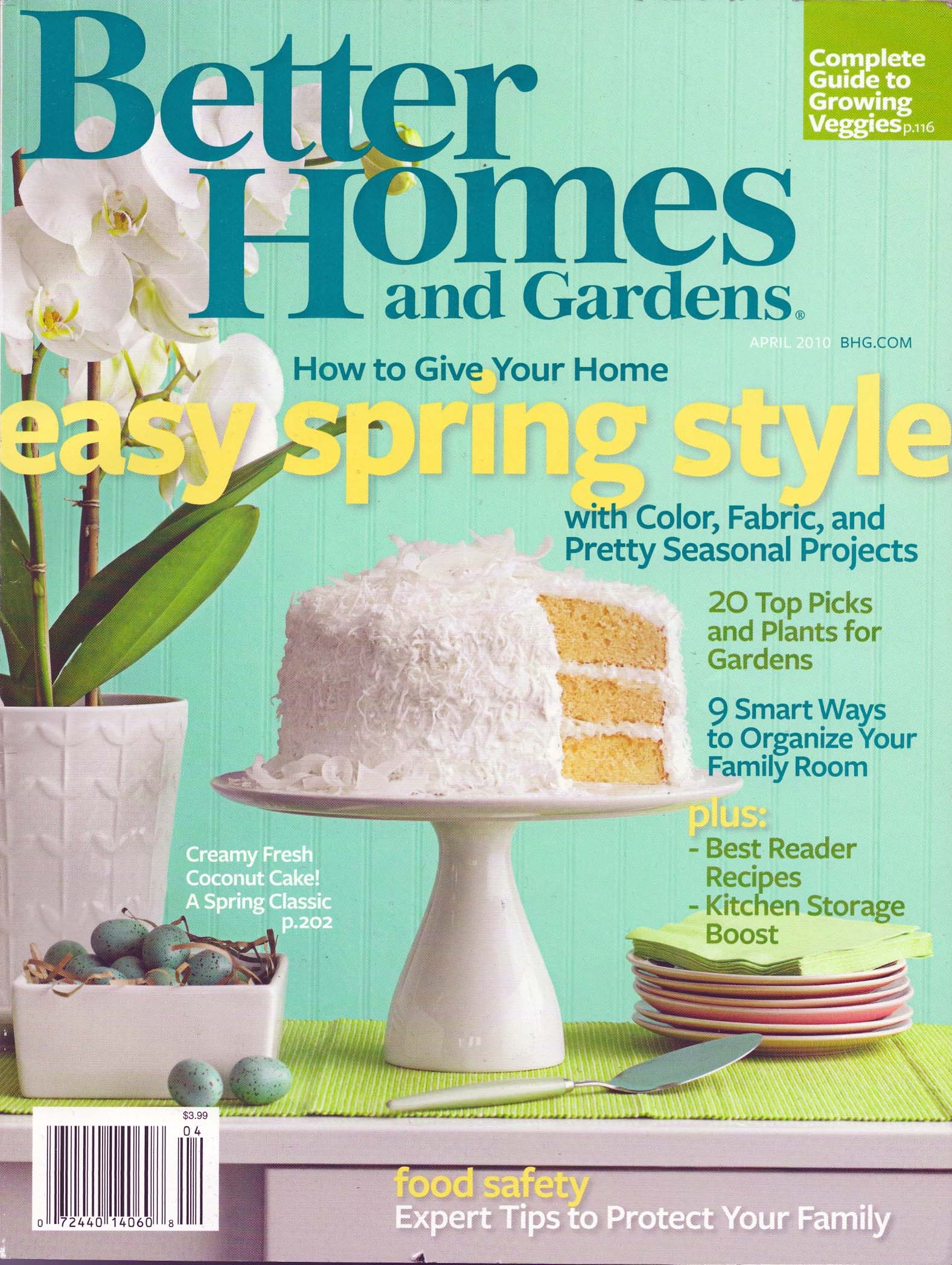 """Better Homes And Gardens April 2010"""