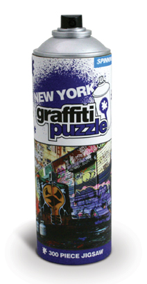 Graffiti Puzzle: new York, $11.95