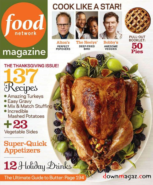 Bingo placecards in food network magazine perfect for turkey day advertisements forumfinder Gallery